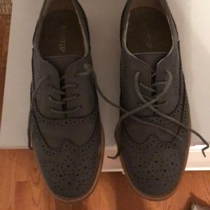 Wanted Grey Loafers